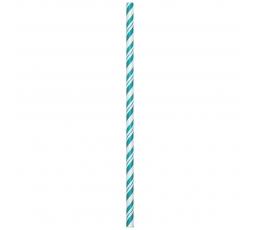 Kõrred, türkiis - triibulised (24 tk.)