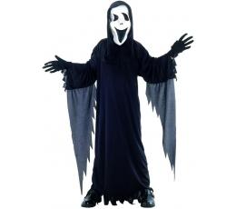 """Kostüüm maskiga """"Must kummitus"""" (7-9 aastat)"""