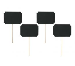 Kriiditahvel kaardid-tikud (4 tk)