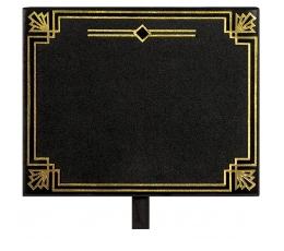 Kriiditahvel-lõks,must ja kuldne (8 tk)