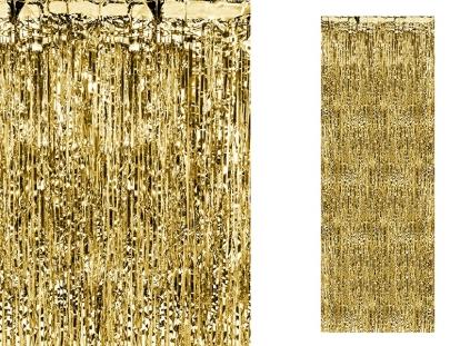 Fooliumkardin, kuldne (90x250 cm)