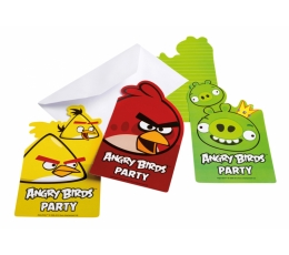 "Kutsed ""Angry Birds"" (6 tk.)"
