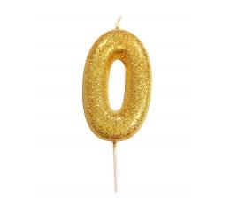 """Küünal """"0"""", kuldne"""