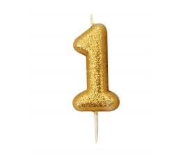"""Küünal """"1"""", kuldne"""