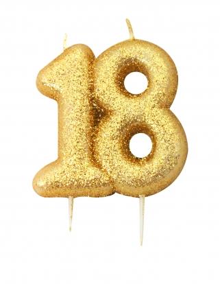 """Küünal """"18"""", kuldne"""