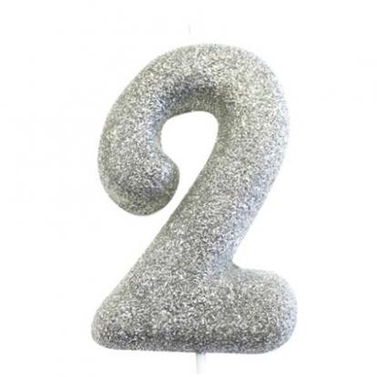 """Küünal """"2"""", hõbedane"""
