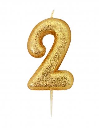 """Küünal """"2"""", kuldne"""