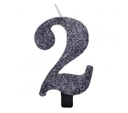 """Küünal """"2"""", must läikiv"""