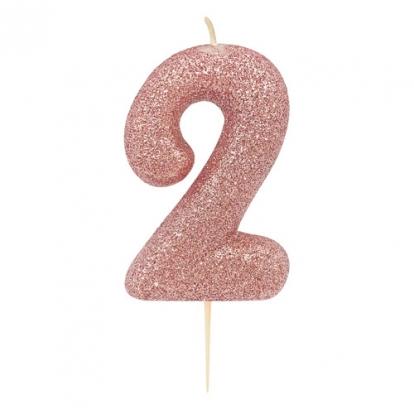 "Küünal ""2"", roosakaskuldne"