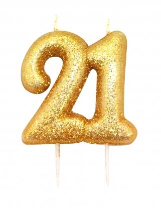 """Küünal """"21"""", kuldne"""