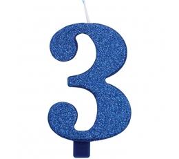 """Küünal """"3"""", sinine"""