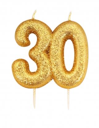 """Küünal """"30"""", kuldne"""