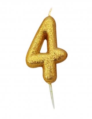 """Küünal """"4"""", kuldne"""