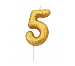 """Küünal """"5"""", kuldne"""