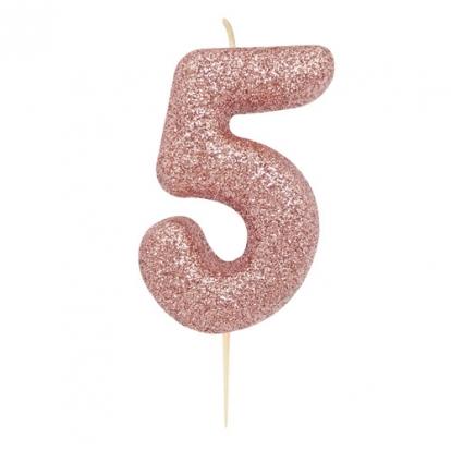 "Küünal ""5"", roosakaskuldne"