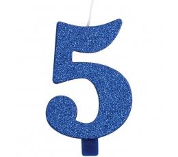 """Küünal """"5"""", sinine"""