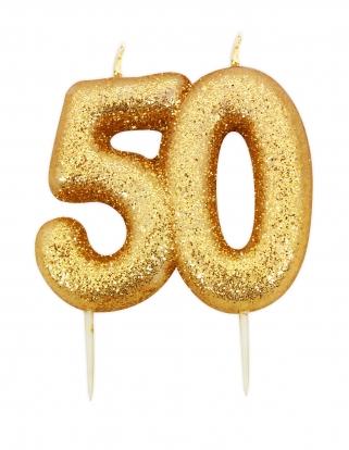 """Küünal """"50"""", kuldne"""