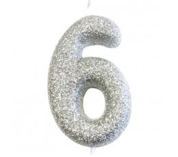 """Küünal """"6"""", hõbedane"""