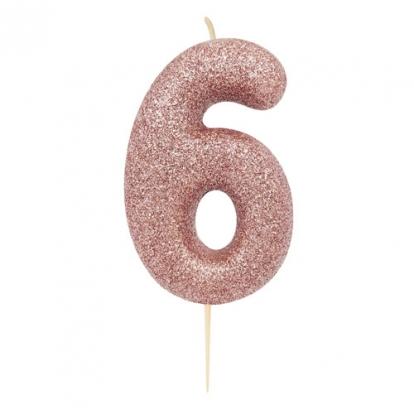 "Küünal ""6"", roosakaskuldne"