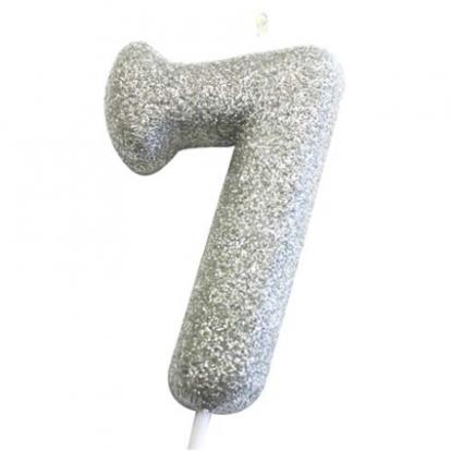 """Küünal """"7"""", hõbedane"""