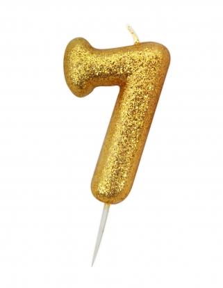 """Küünal """"7"""", kuldne"""