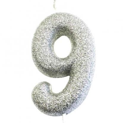 """Küünal """"9"""", hõbedane"""
