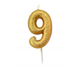 """Küünal """"9"""", kuldne"""