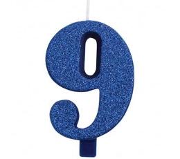 "Küünal ""9"", sinine (9,5 cm)"