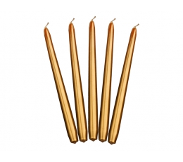Küünal, pikk kuldne (24 cm)