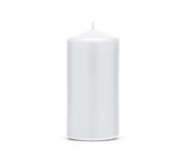 Küünal, piklik valge (11,5x6 cm)