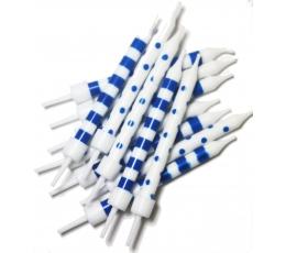 Küünlad, sinivalged (12 tk)