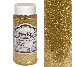 Läikiv tolm, kuldne (100 g)