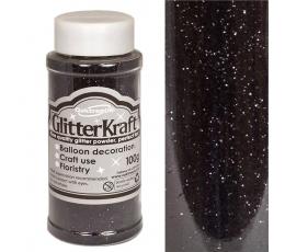 Läikiv tolm, must (100 g)