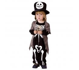 """Laste kostüüm """"Kelmikas skelett"""" (3-4 a)"""