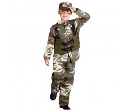 Laste sõduri kostüüm (7-9 aastat)