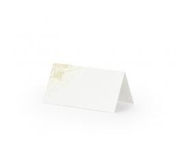 """Laua-nimekaardid """"Kuldkaunistused"""" (25 tk)"""
