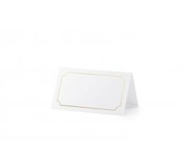 """Laua-nimekaardid """"Kuldne raam"""" (10 tk)"""