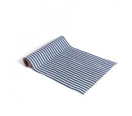 Lauajooks, sini-valge triibuline (28 cmx5 m)