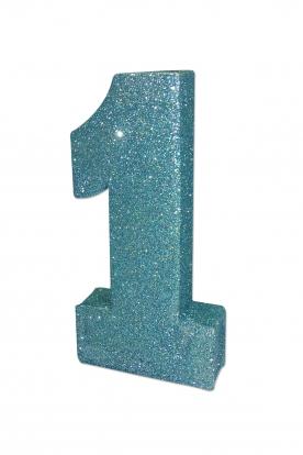 """Lauakaunistus """"1"""", sinine läikiv"""