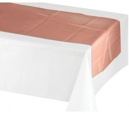 Lauakaunistus/lina, roosakuldne (35x213 cm)