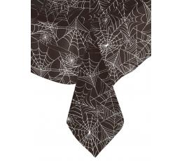 """Laudlina """"Must ämblikuvõrk"""" (137x259 cm)"""