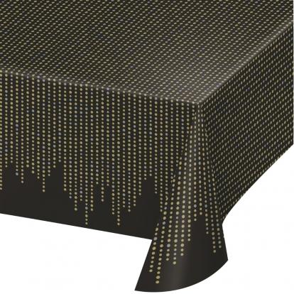 Laudlina, musta - kuldne (137x259 cm)