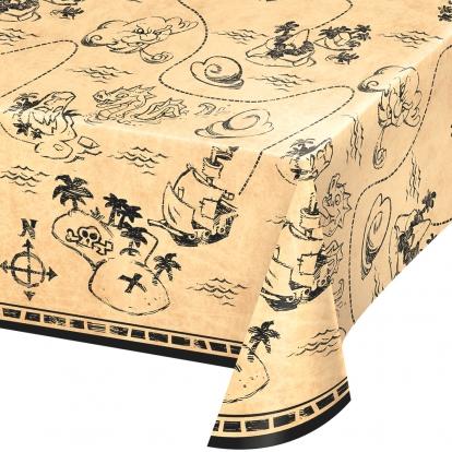 "Laudlina ""Piraadid merel"" (137x259 cm)"