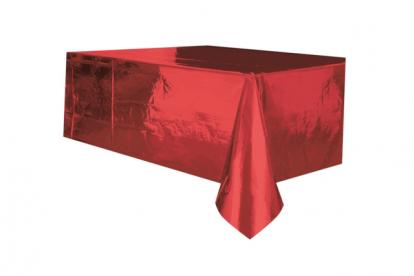 Laudlina punane sätendav (137x274 cm)