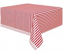 Laudlina, punaste triipudega (137x274 cm)
