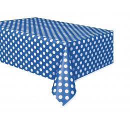Laudlina, sinine täpiline (137x274) cm