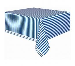 Laudlina, sinisetriibuline (137x274 cm)
