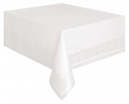 Laudlina, valge - paberist (137x274 cm)