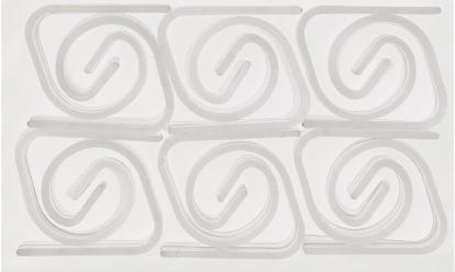 Laudlinahoidjad, läbipaistvad (24 tk)