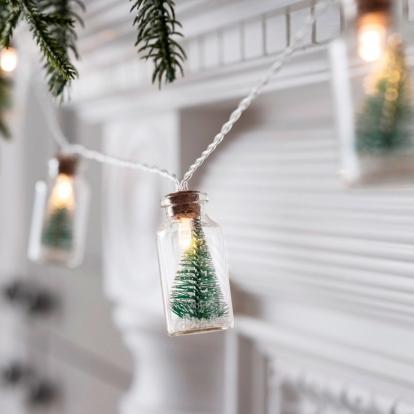 "LED-vanik ""Jõulupudelid"" (2x4 cm x 110 cm)"